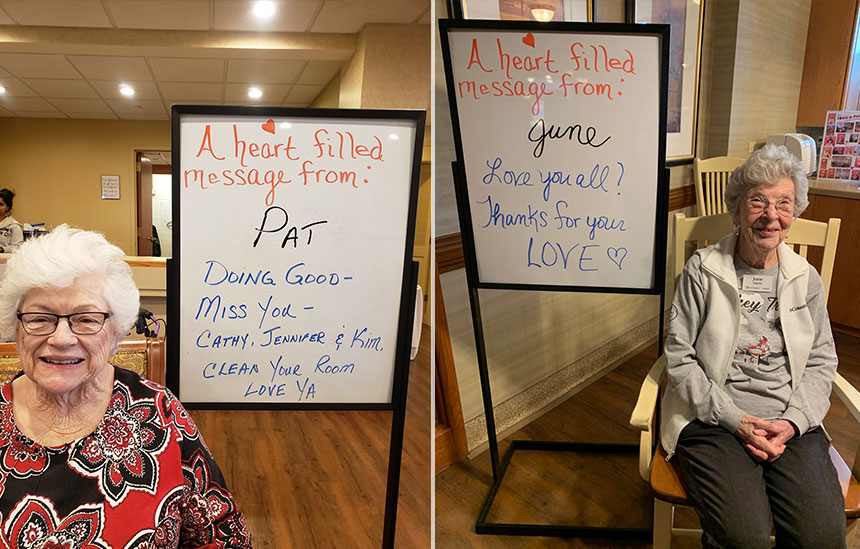 Heartfelt Messages from Residents to their Loved Ones 2
